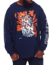 Big & Tall - Only The Strong Long Sleeve T-Shirt (B&T)-2705109