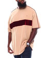 Short-Sleeve - Velvet Stripe Core T-Shirt (B&T)-2708929
