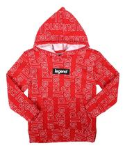 Hoodies - Legend All Over Print Pullover Hoodie (8-18)-2687582
