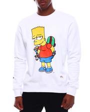 Sweatshirts & Sweaters - SCHEMING BART CREWNECK-2710437