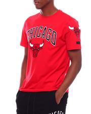 T-Shirts - CHICAGO BULLS STACKED LOGO PRO TEAM SHIRT-2709266