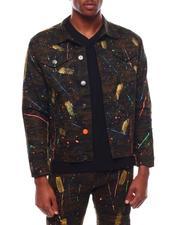 Outerwear - Paint Stroke Denim Jacket-2709680