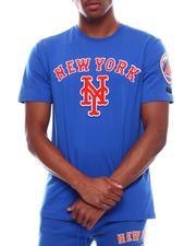 T-Shirts - NEW YORK METS STACKED LOGO PRO TEAM SHIRT-2710367