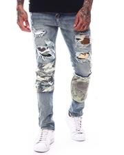 Jeans & Pants - Panel Ripped Jean-2709560