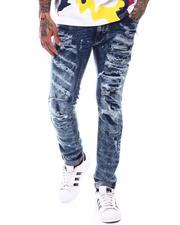 Jeans & Pants - Broken Down Biker Denim Jean-2710596
