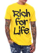 T-Shirts - Rich For Life T-Shirt-2710672