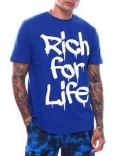T-Shirts - Rich For Life T-Shirt-2710697