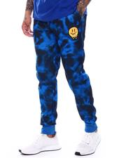 Jeans & Pants - Tie Dye Dripping Smiley Face Jogger-2710751