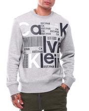 Calvin Klein - Ls Broken Logo Crew-2710642