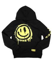 Boys - Vibes Exploded Smiley Hoodie (8-18)-2710008