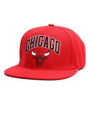 Hats - Chicago Bulls Stacked Logo Snapback Hat-2710361