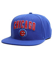 Hats - Chicago Cubs Stacked Logo Snapback Hat-2710373