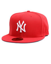 Hats - 59Fifty New York Yankees Subway FR Door Red Fitted Hat-2710652