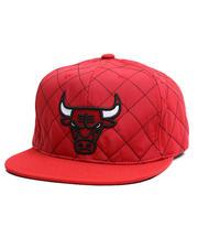 Men - Chicago Bulls Quilted Taslan Snapback Hat-2711202