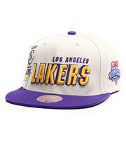 Men - Los Angeles Lakers Draft Day 96 Snapback Hat-2711205