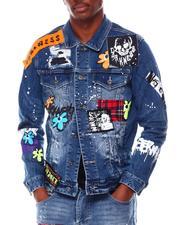 Men - PATCH FASHION Denim Jacket-2712053