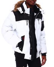 Men - Milano Mix Media Puffer Bomber Jacket-2712172