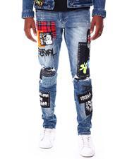 Men - Patch Fashion Jean-2712072