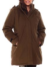 Women - Quilted Anorak Jacket W/Faux Fur-2708416