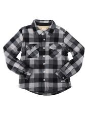 Button-downs - Polar Fleece Sherpa Bonded Shirt (4-16)-2711089