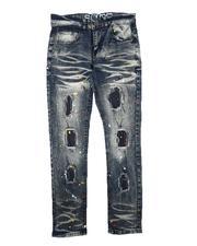 Jeans - Rip & Repair Paint Splatter Jeans (8-18)-2711229