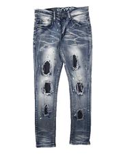 Jeans - Rip & Repair Paint Splatter Jeans (8-18)-2711245