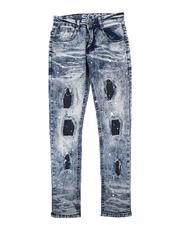 Jeans - Rip & Repair Paint Splatter Jeans (8-18)-2711261