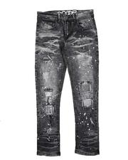 Jeans - Paint Splatter Rip & Repair Jeans (8-18)-2711293