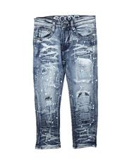 Bottoms - Paint Splatter Rip & Repair Jeans (4-7)-2711304