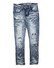 Jeans - Paint Splatter Rip & Repair Jeans (8-18)-2711309