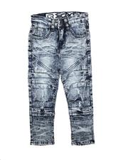 Bottoms - Rip & Repair Moto Jeans (4-7)-2711456