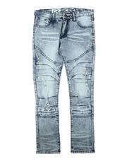 Jeans - Rip & Repair Moto Jeans (8-18)-2711491