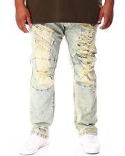 Men - Broken Down Biker Denim Jeans (B&T)-2712849
