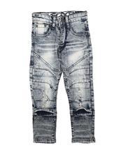 Bottoms - Rip & Repair Moto Jeans (4-7)-2711408