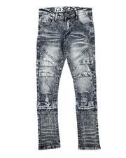 Jeans - Rip & Repair Moto Jeans (8-18)-2711431