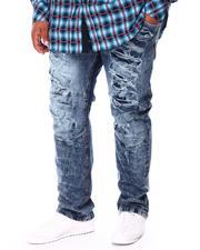 Men - Broken Down Biker Denim Jeans (B&T)-2712889