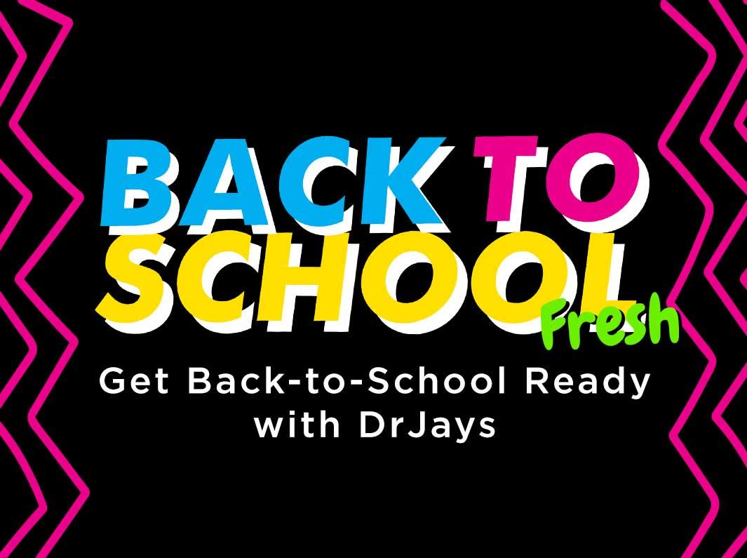 Back to School fRESH