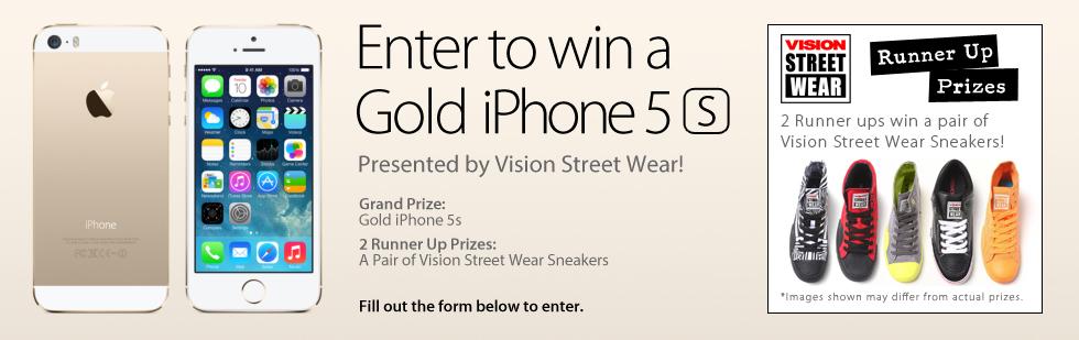 iPhone 5s Contest