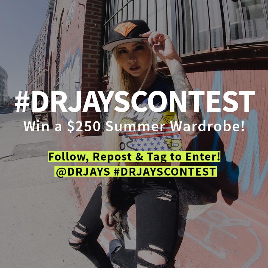 DrJays.com - Win a $250 Summer Wardrobe