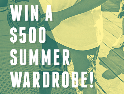 Enter Below for a chance to win a $500 Summer Wardrobe at DrJays.com