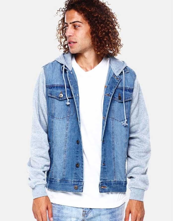 Shop Men's Denim Jackets at DrJays.com