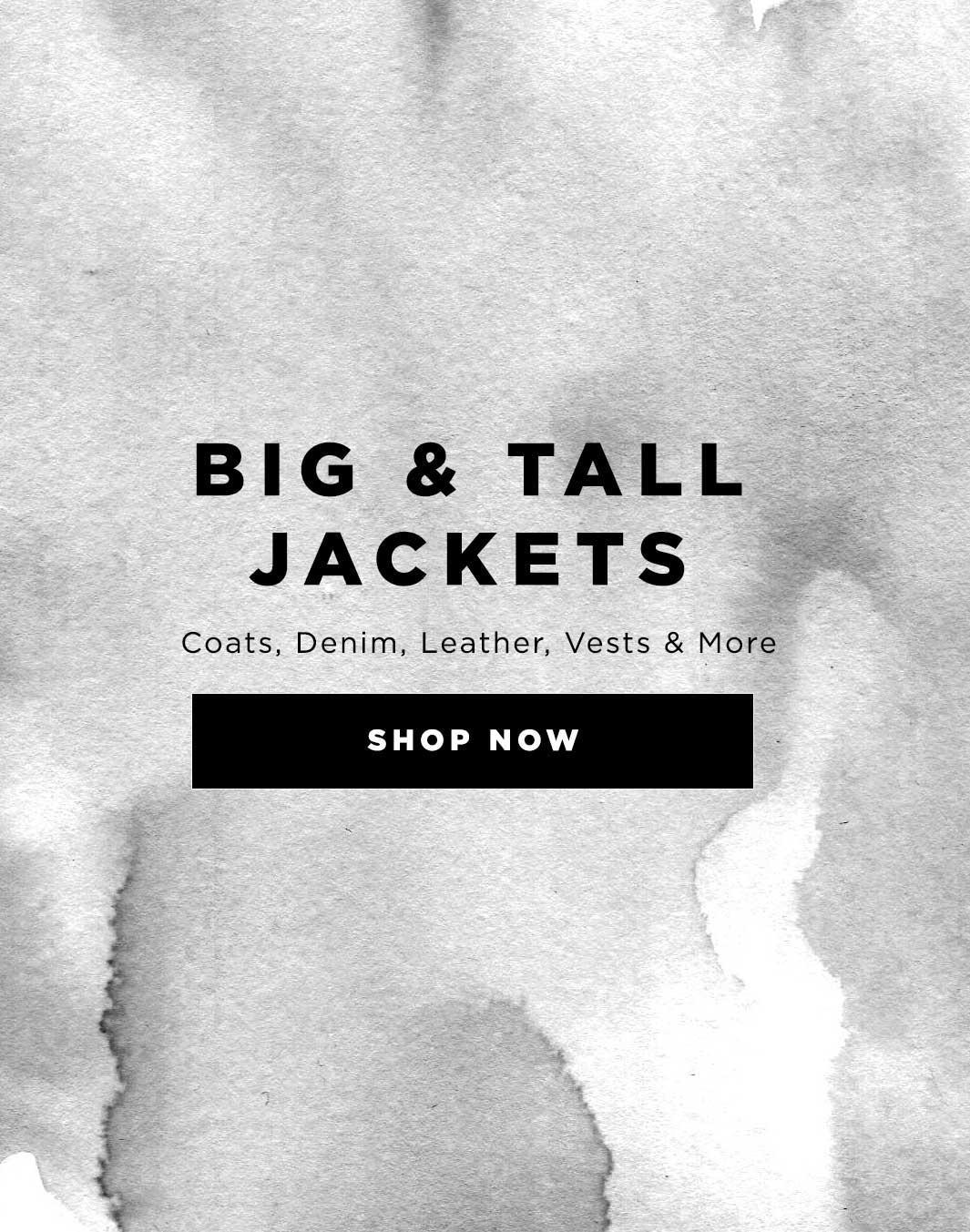 Shop Mens Big & Tall at DrJays.com