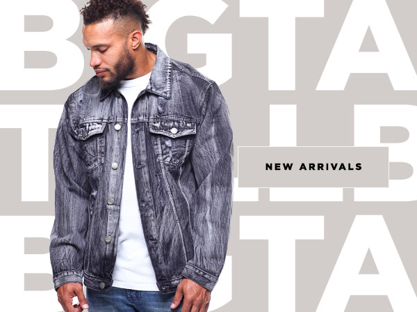 New Arrivals For Men's Big & Tall