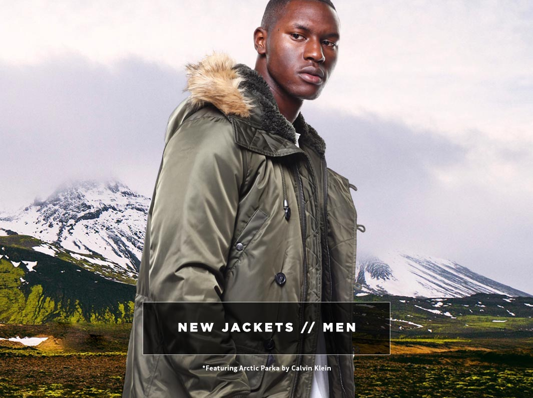 Men's New Jackets