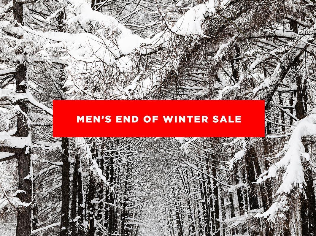 Men's Winter Sale