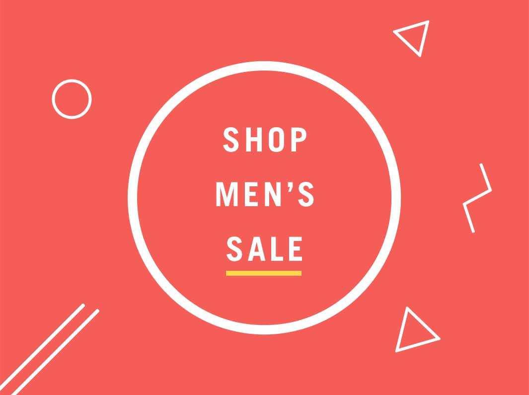 Men's Spring Sale