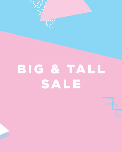 Big And Tall Summer Sale