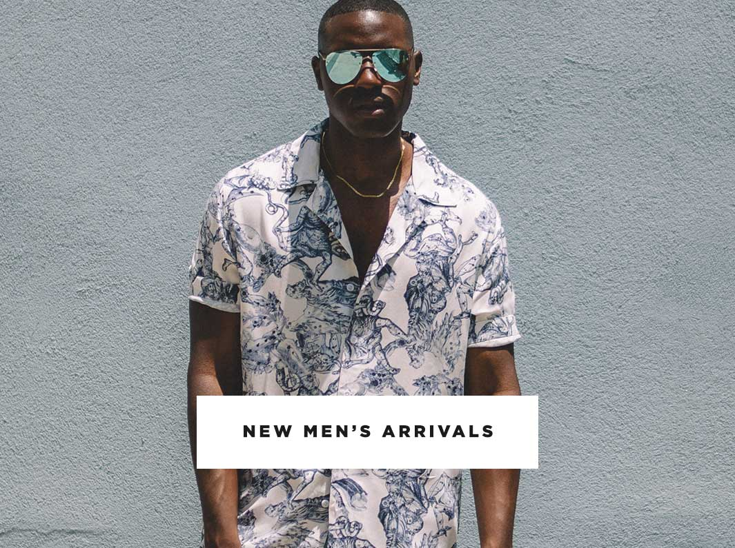 Mobile Men's New Arrivals