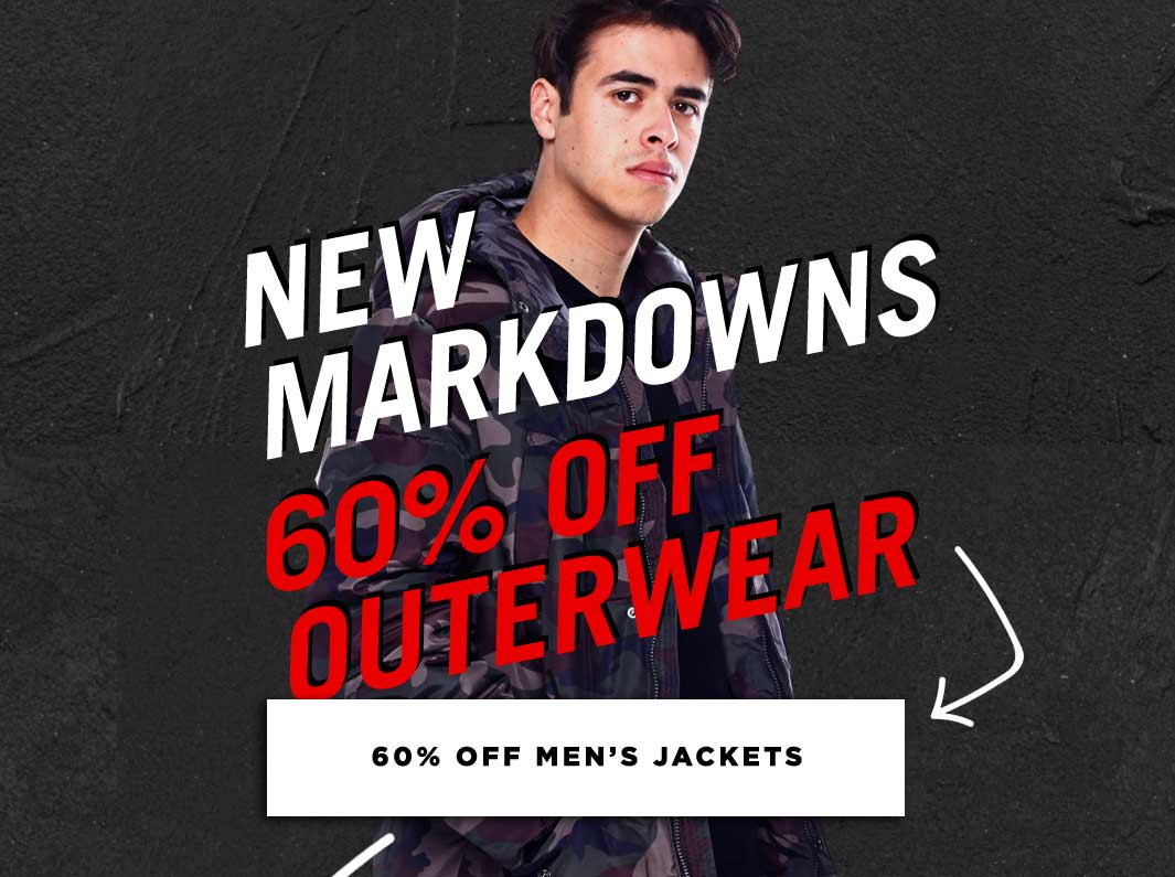 Mobile Men's Blowout Sale Jackets