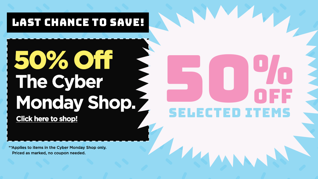 Cyber Monday Deals - 50% Off The Cyber Monday Shop, no coupon needed.